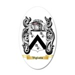 Vigliotto 35x21 Oval Wall Decal