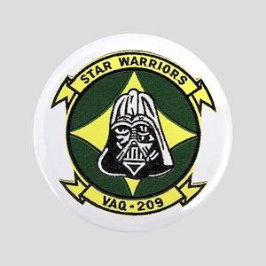 """VAQ 209 Star Warriors 3.5"""" Button"""