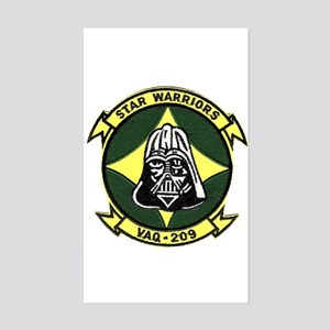 VAQ 209 Star Warriors Rectangle Sticker