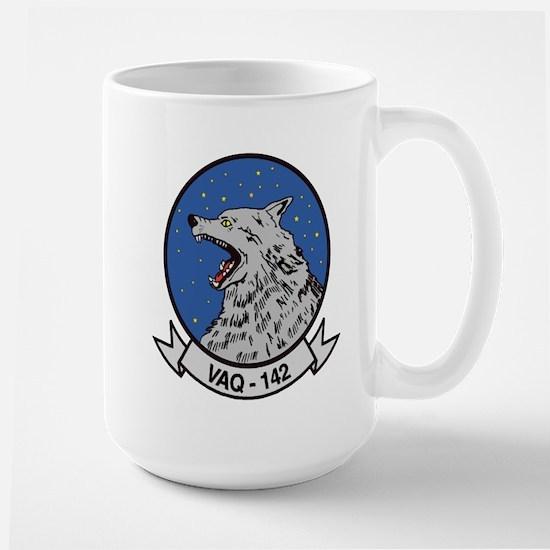 VAQ 142 Gray Wolves Large Mug