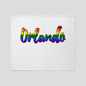 Orlando Strong Throw Blanket