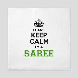 Saree I cant keeep calm Queen Duvet