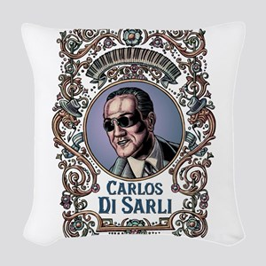 Carlos Di Sarli Woven Throw Pillow