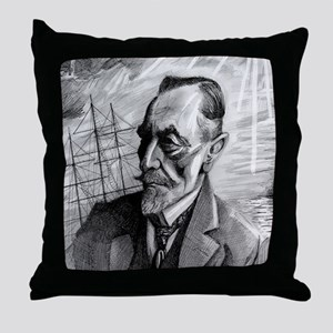 Joseph Conrad Throw Pillow