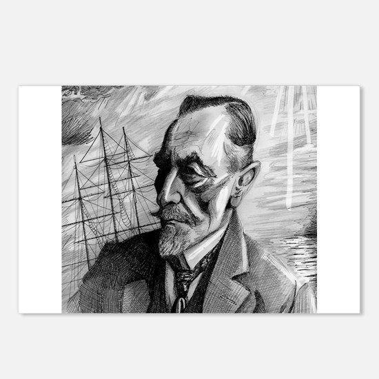 Joseph Conrad Postcards (Package of 8)