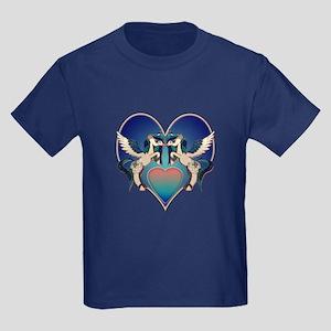 Alicorn Wishes Kids Dark T-Shirt