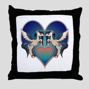 Alicorn Wishes Throw Pillow