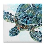 Sea Turtle #9 Tile Coaster