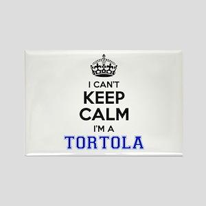 I can't keep calm Im TORTOLA Magnets