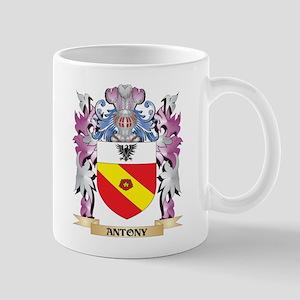 Antony Coat of Arms (Family Crest) Mugs