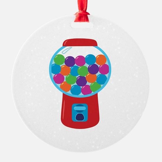 Cute Gumball Machine Ornament