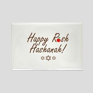 Happy Rosh Hashanah or Jewish Near year gr Magnets