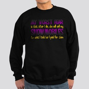 Cheap Snowmobile Sweatshirt