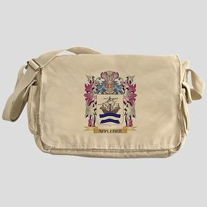 Applebee Coat of Arms (Family Crest) Messenger Bag