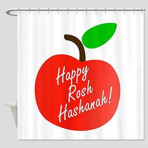 Rosh Hashanah or Jewish Near year g Shower Curtain