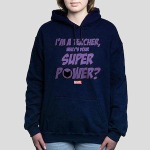 Hawkeye Teacher Women's Hooded Sweatshirt