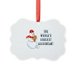 World's Coolest Accountant Ornament