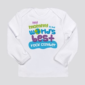 Rock Climber Gift for K Long Sleeve Infant T-Shirt