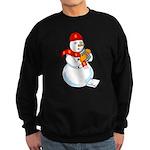 Snowman Accountant Sweatshirt