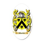 Wheeller Oval Car Magnet