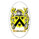 Wheeller Sticker (Oval 10 pk)