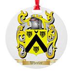 Wheeler Round Ornament