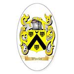 Wheeler Sticker (Oval 50 pk)