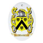 Wheeler Oval Ornament