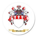 Wheatly Round Car Magnet