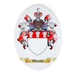 Wheatly Oval Ornament