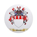 Wheatly Round Ornament