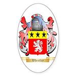 Wheatley 2 Sticker (Oval)