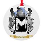 Wharton Round Ornament