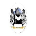 Wharton Oval Car Magnet