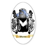 Wharton Sticker (Oval 50 pk)