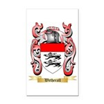 Wetherall Rectangle Car Magnet