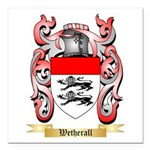 Wetherall Square Car Magnet 3