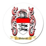 Wetherall Round Car Magnet
