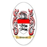 Wetherall Sticker (Oval)