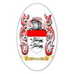 Wetherall Sticker (Oval 50 pk)