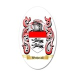 Wetherall 35x21 Oval Wall Decal