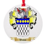 Weston Round Ornament