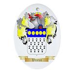 Weston Oval Ornament