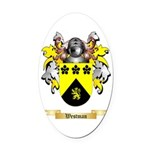 Westman Oval Car Magnet