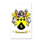 Westman Rectangle Car Magnet