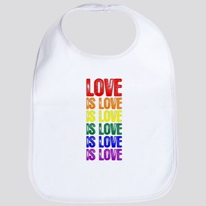 Love is Love is Love Bib