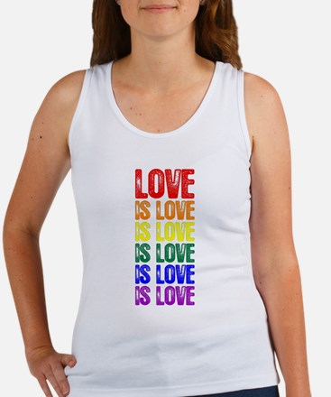 Love is Love is Love Women's Tank Top