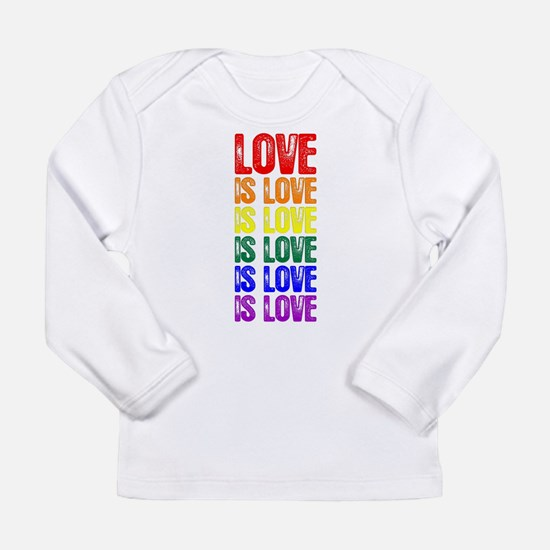 Love is Love is Love Long Sleeve Infant T-Shirt
