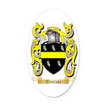 Westlake Oval Car Magnet