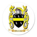 Westlake Round Car Magnet
